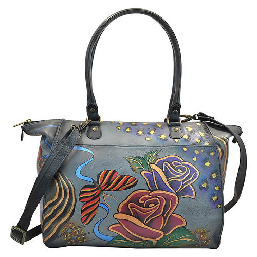 Anna by Anuschka Painted Large Tote Bag