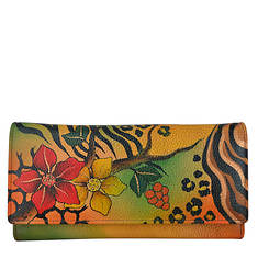 Anna by Anuschka Two-Fold Slim Wallet