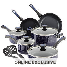 Paula Deen 12-Piece Nonstick Cookware Set