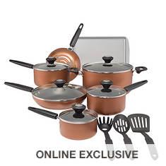 Silverstone 15-Piece Nonstick Cookware Set