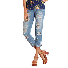 Destructed Crop Jean