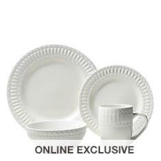 Thomson Pottery Arctica 16-Piece Dinnerware Set
