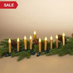 Set of 10 Infrared Remote Control LED Candles
