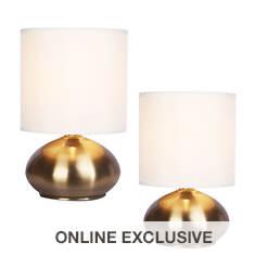 Catalina Lighting Caden 2-Piece Accent Lamp