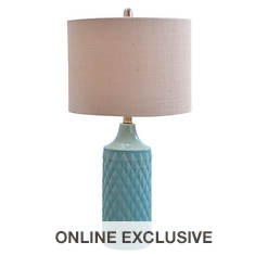 "Catalina Lighting 26.5"" Modern Ceramic Table Lamp"
