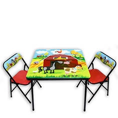 Barnyard Table and Chairs