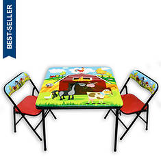 Barnyard Table and Chairs