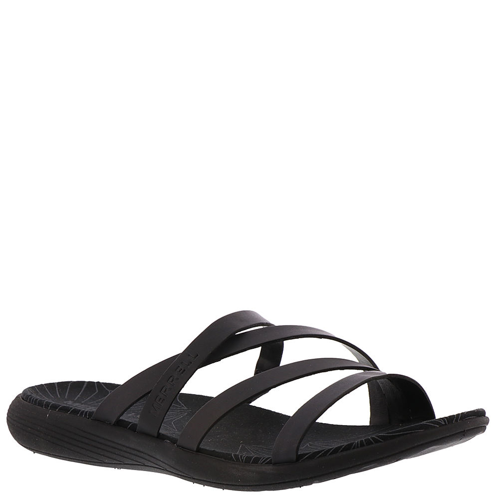 Merrell Duskair Seaway Slide Leather Women's Sandals