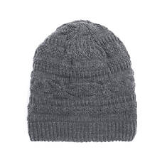 MUK LUKS Men's Textured Beanie