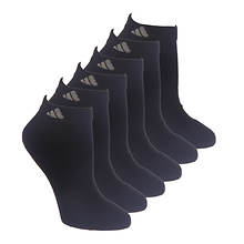 adidas Women's Athletic 6-Pack Low Cut Socks