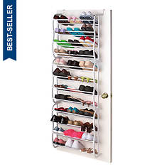 Over-the-Door 36-Pair Shoe Rack
