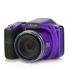 Minolta 20MP Bridge Camera with 35X Zoom