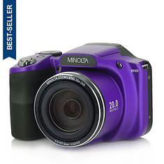 Minolta 20MP Bridge Camera with 35X Zoom