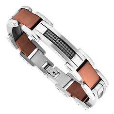 Stainless Steel Wire Bracelet (Men's)