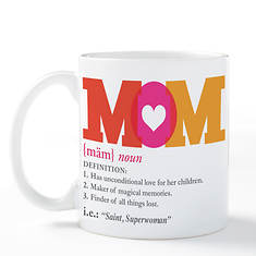 Definition Of Mom Coffee Mug
