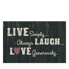 Live, Laugh, Love Doormat