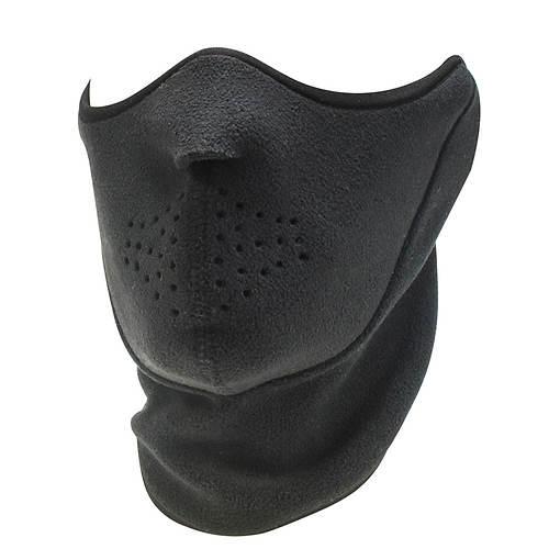 Quiet Wear Men's Neo Fleece Half Mask