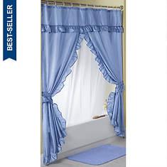Starlite Swag Shower Curtain