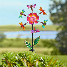 "41"" Dragonfly Solar Wind Spinner"