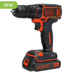 Black+Decker 20V MAX Lithium Drill/Driver
