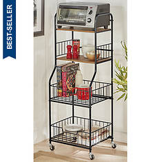 "16.5"" Wide Rolling Storage Stand"