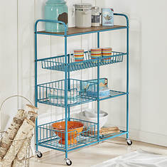 "28"" Wide Rolling Storage Cart"