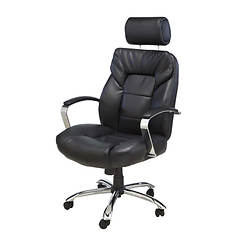 Oversize Adjustable Leather Chair