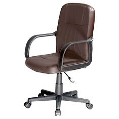 Mid-Back Leather Chair