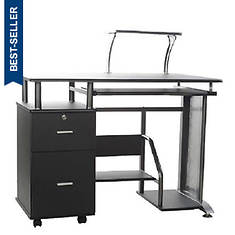 Rothmin Desk with Storage Cabinet