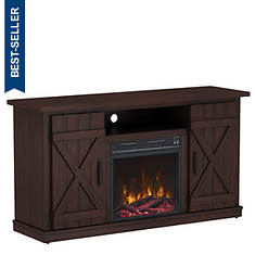 Twin Star Electric Fireplace Media Center