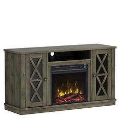 Classic Flame Bayport TV Stand with Fireplace