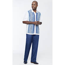 Stacy Adams Men's Linear Geo Knit Set