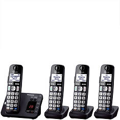 Panasonic Base Unit + 3 Handsets Cordless Answering System