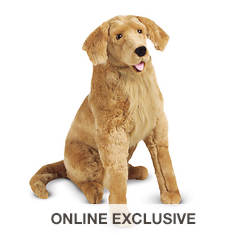 Melissa & Doug Golden Retriever Giant Stuffed Animal