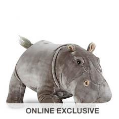 Melissa & Doug Hippopotamus Lifelike Stuffed Animal