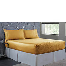 BedTite 300-Thread Count Poly Satin Sheet Set