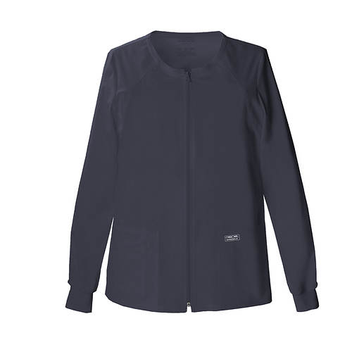 Cherokee Medical Uniforms Workwear Stretch Zip Warm-Up Jacket