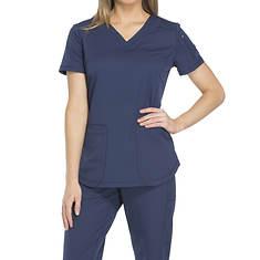 Dickies Medical Uniforms Dynamix-V-Neck Top