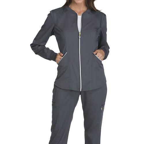 Cherokee Medical Uniforms LUXE SPORT Zip Warm-Up Jacket
