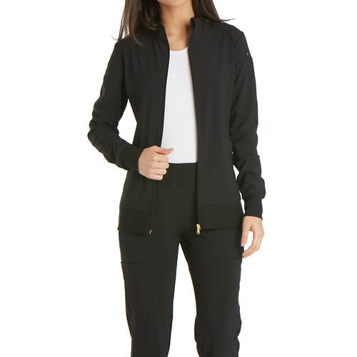 Cherokee Medical Uniforms iflex Zip-Front Warm-Up Jacket