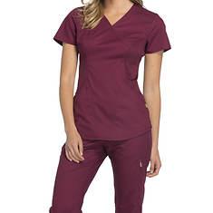 Cherokee Medical Uniforms LUXE SPORT-Mock Wrap Top