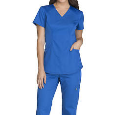 Cherokee Medical Uniforms LUXE SPORT-Mock Wrap Top