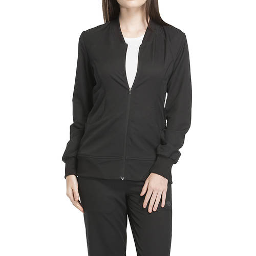 Dickies Medical Uniforms Dynamix-Zip Front Warm-Up Jacket
