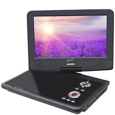 """SuperSonic Portable 9"""" TV/DVD/CD Player"""