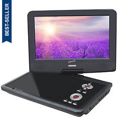 "SuperSonic Portable 9"" TV/DVD/CD Player"