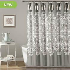 Lush Decor Boho Medallion Shower Curtain