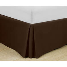 Easy-Fit Basic Pleated Bedskirt