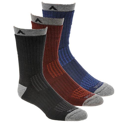Wigwam Men's Montane 3-Pack Crew Socks