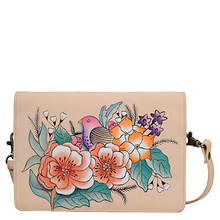 Anna by Anuschka Two Fold Wallet On A String