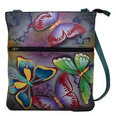 Anna by Anuschka Slim Cross Shoulder Bag